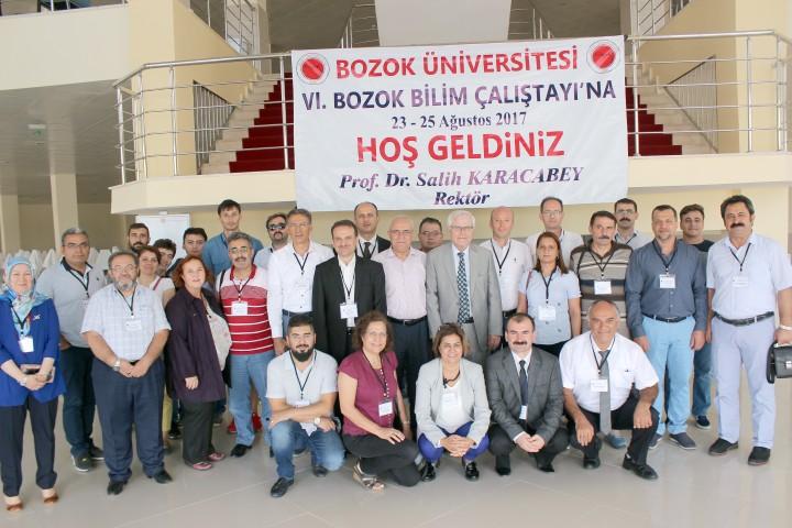 """""""Altıncı Bozok Bilim Çalıştayı"""" tamamlandı"""