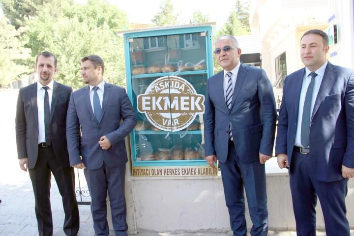 CK Çamlıbel Elektrik'ten 'Askıda Ekmek' projesi