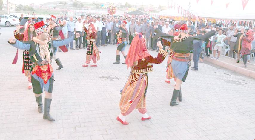 Özler köyünde festival coşkusu