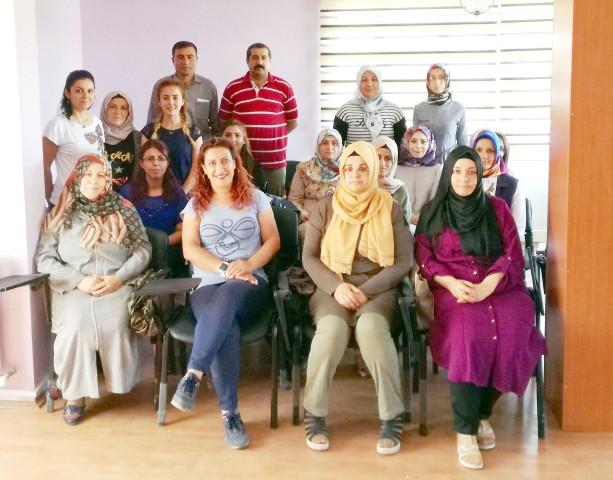 Şefaatli'de 17 kadın girişimci sertifikalarını aldı