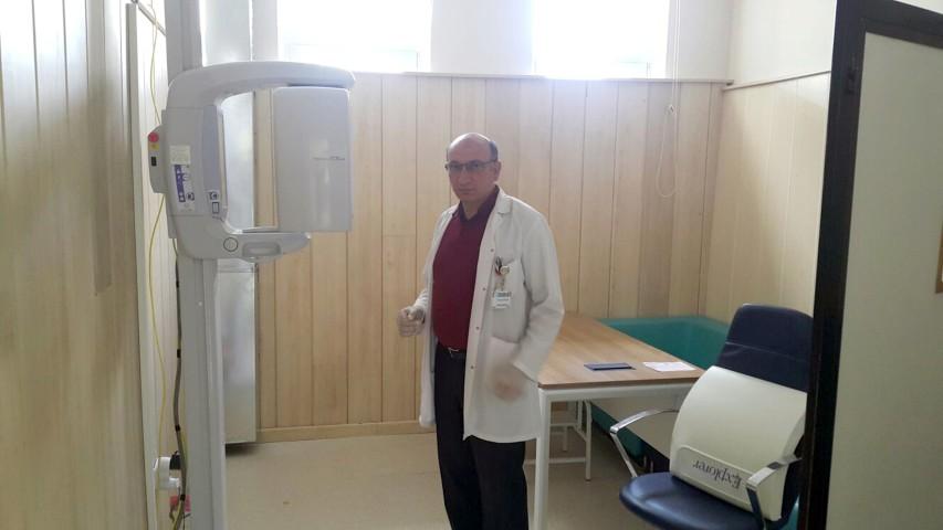 Akdağmadeni'nde panoramik  röntgen cihazı hizmete girdi