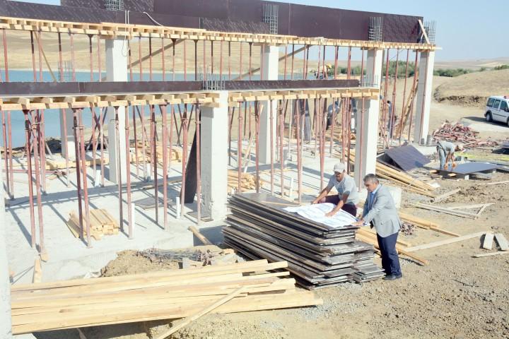 Mesire alanı projesi başladı