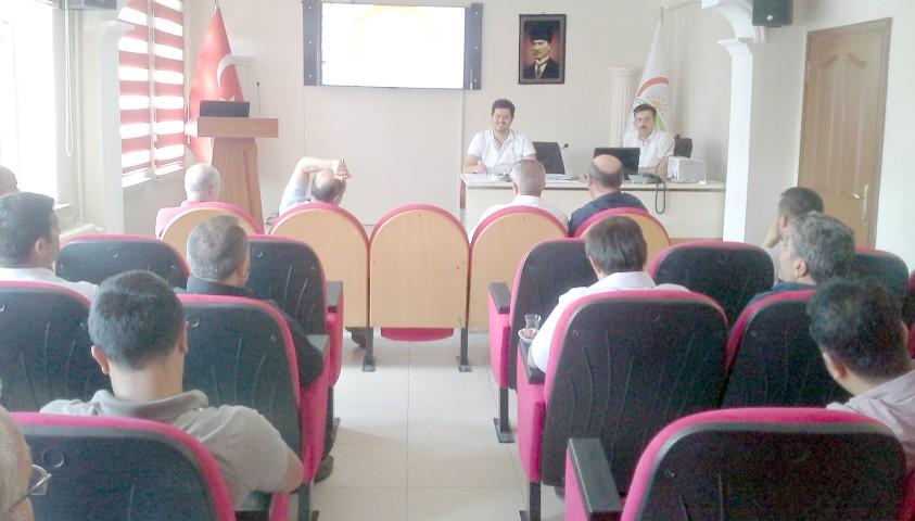 Hayvan ıslahı projesi toplantısı Yozgat'ta yapıldı