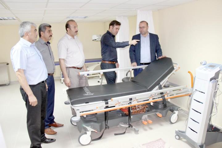 Huzurevi sakini 55 bin TL'ye  fizik tedavi ünitesi yaptırdı