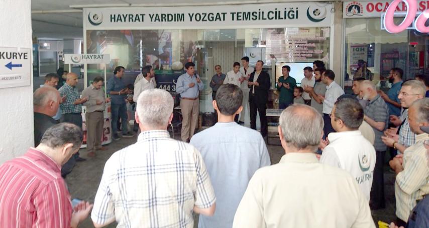 Hayrat Yardım Yozgat Temsilciliği açıldı