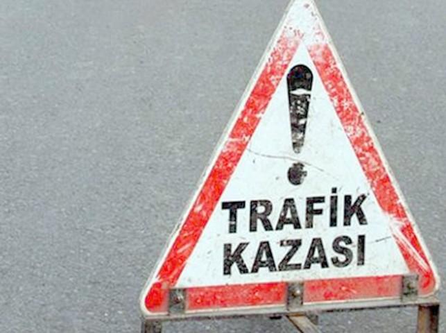 Minibüs ile motosiklet  çarpıştı 2 kişi hayatını kaybetti