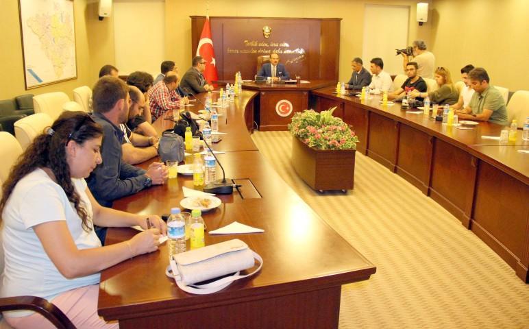 İş adamları yatırım  için Yozgat'a gelecek