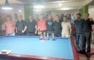Bilardo şampiyonası düzenlendi