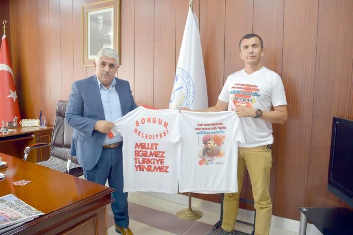Karadavut, 15 Temmuz FETÖ Darbesini  spor ile gündemde tutuyor