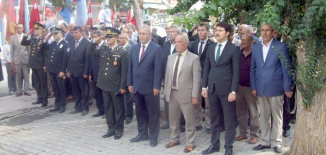 Yerköy'de gaziler  günü kutlandı