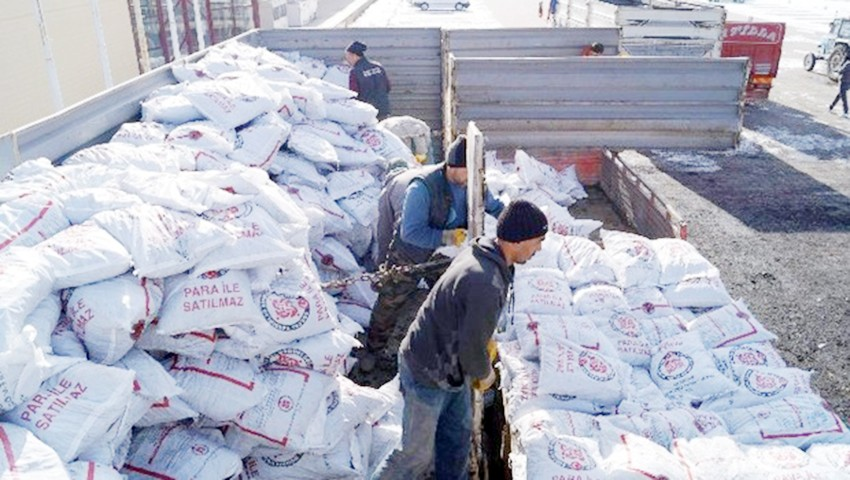 Yozgat'ta bu yıl 7 bin ton kömür dağıtılacak