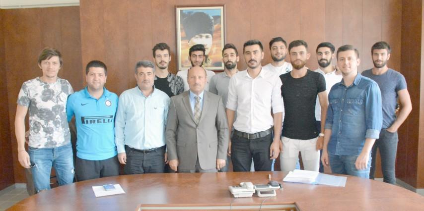 Sorgun Belediyespor Voleybol  Takımı lige iddialı hazırlanıyor