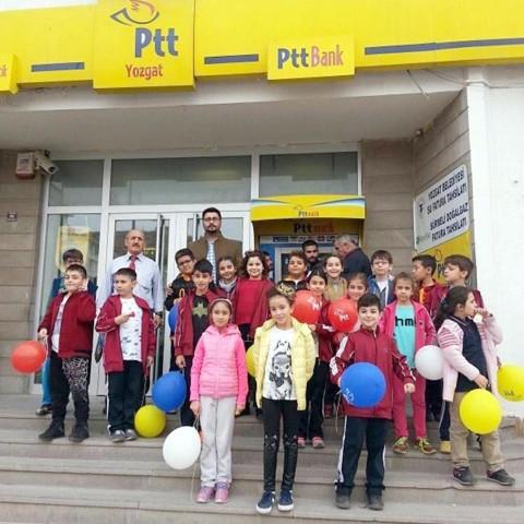 Öğrenciler PTT'nin 177. yıl dönümünü kutladılar