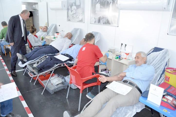 Yerköy'de kan bağışı kampanyası