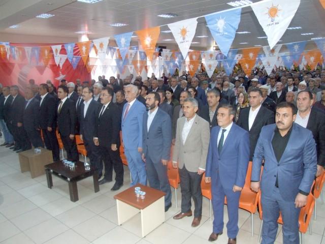 AK Parti Yerköy kongresi yapıldı