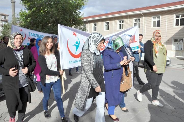 '3 Ekim Dünya Yürüyüş Günü' etkinliği düzenlendi