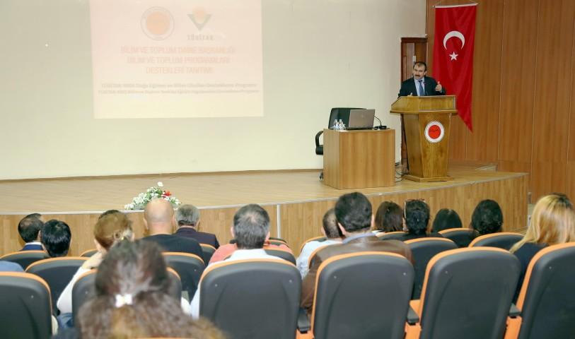 TÜBİTAK bilim ve toplum  programları tanıtımı gerçekleştirildi