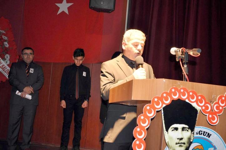 Sorgun'da Atatürk ölümünün  79'uncu yıl dönümünde anıldı