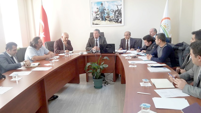 DSİ ile Gıda Tarım ve Hayvancılık  İl Müdürlüğü işbirliği toplantısı
