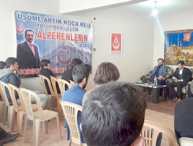 Alperen Ocakları Sorgun şubesi hizmete açıldı