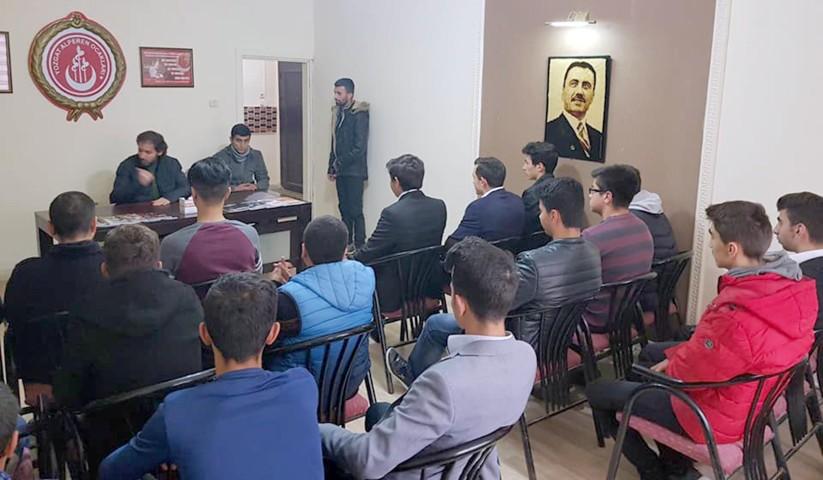 Çıtak, orta öğretim öğrencilerine seminer verdi
