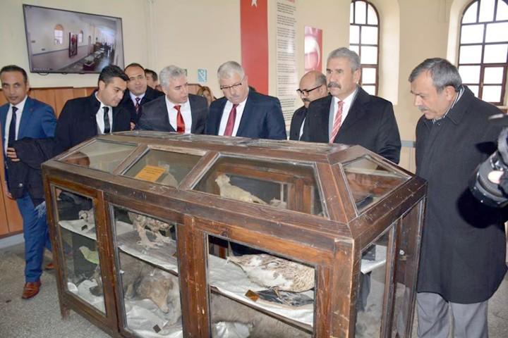Yozgat Lisesinde İl Eğitim Tarihi Müzesi kuruldu