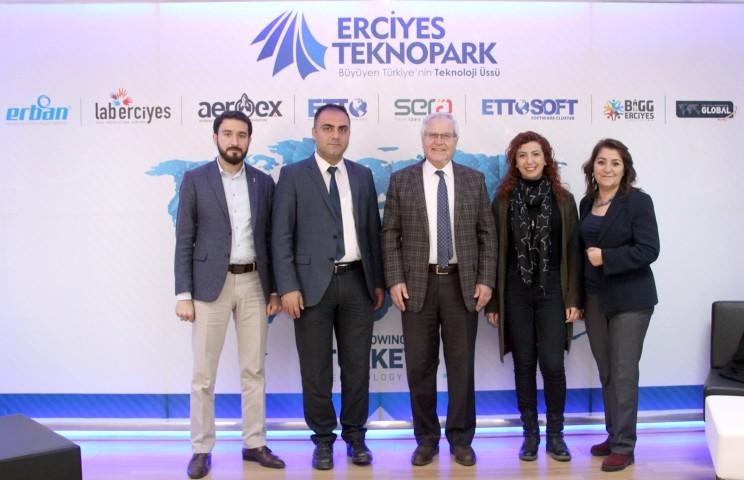 Bozok Teknopark  ile Erciyes Teknopark   arasındaki işbirliği güçleniyor