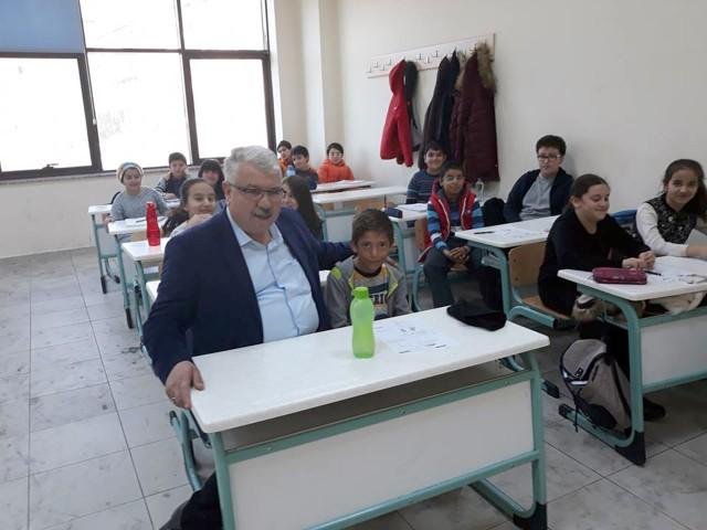 Milli Eğitim Müdürü Yazıcı'dan  hafta sonu mesaisi