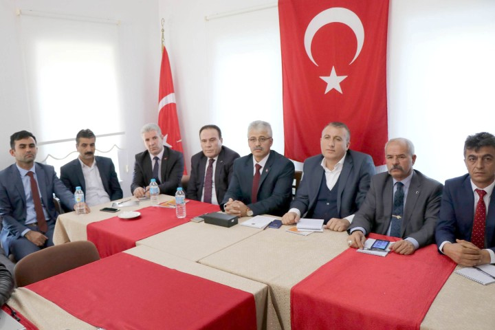 Şehit ve Gazi Dernek Başkanları Nevşehir'de buluştu