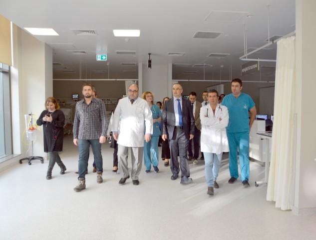 Sağlık Bakanlığı yetkilileri  Şehir Hastanesini ziyaret etti