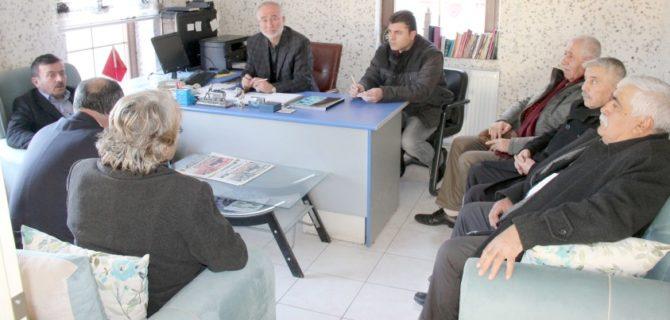 """""""iYi"""" Parti Teşkilatından  gazetemize ziyaret"""