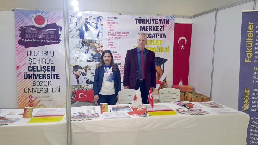 Bozok Üniversitesi Gaziantep fuarına katıldı