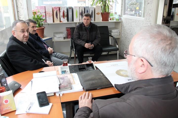 Müftü Sezik'ten Gazetemize ziyaret