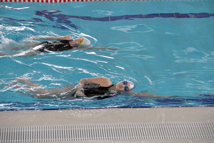 Yarı Olimpik Yüzme Havuzunda  kısa süreli bakım molası