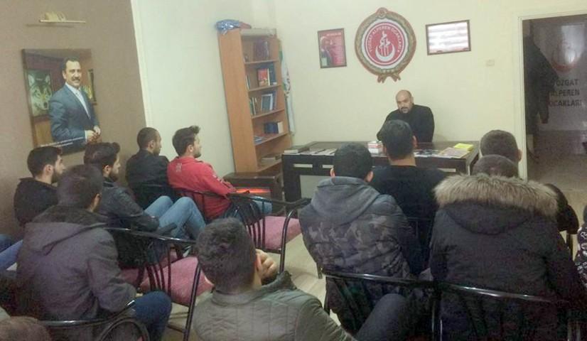 Alperen Ocakları eğitim seminerlerine devam ediyor