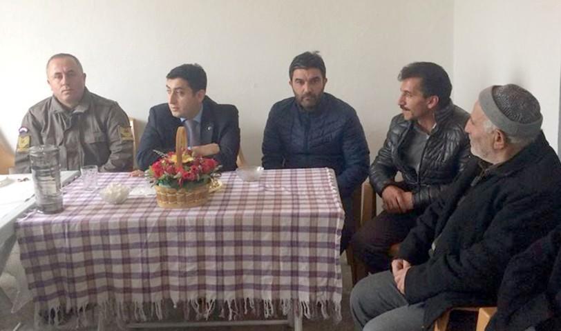 Kaymakam Yavuz, halk toplantılarına devam ediyor