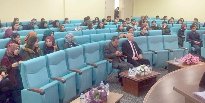Uyuşturucu ile mücadele paneli düzenlendi