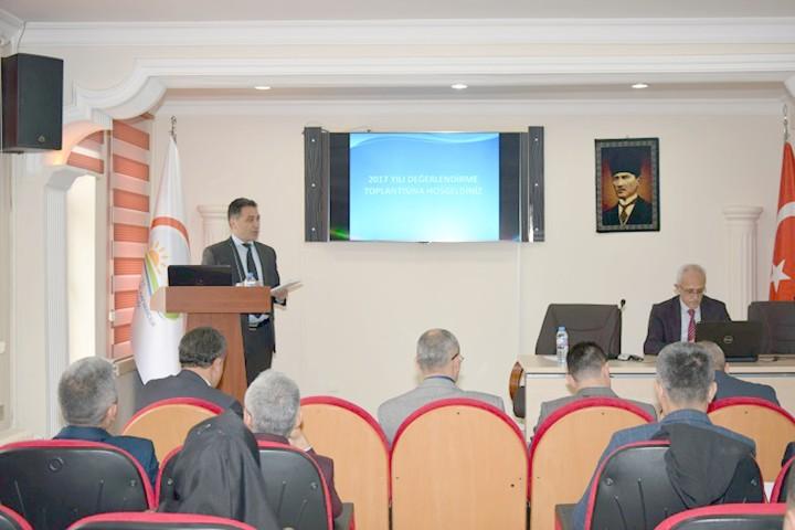 Yozgat'ta 2017 yılı tarımı değerlendirildi