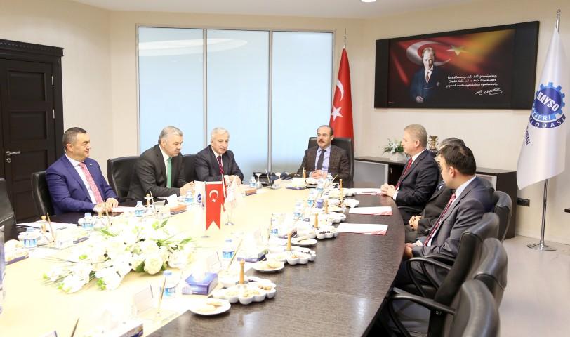 ORAN Yönetim Kurulu  toplantısı Kayseri'de yapıldı