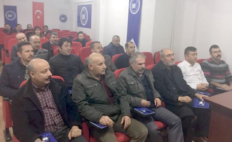 Yozgat SMMMO'dan e-defter, e-fatura bilgilendirme semineri