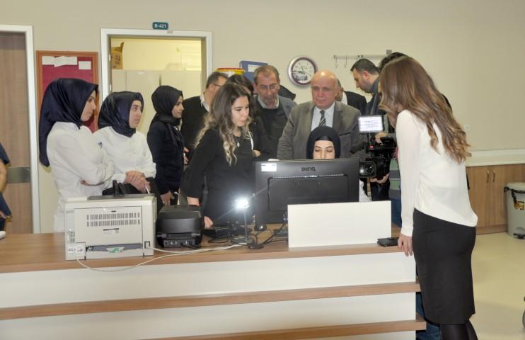 Sorgun Devlet Hastanesine  dijital unvanı verildi