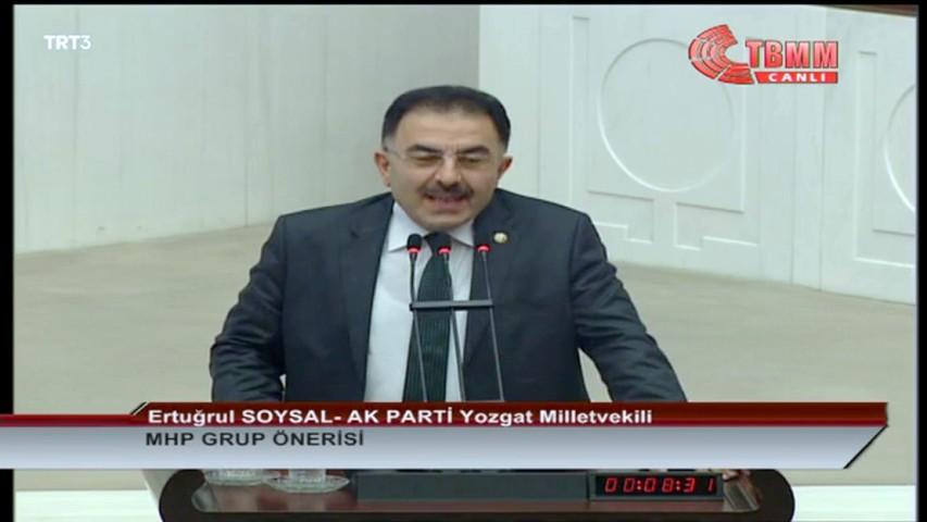 Milletvekili Soysal'dan 10 Aralık  Dünya İnsan Hakları Günü Mesajı