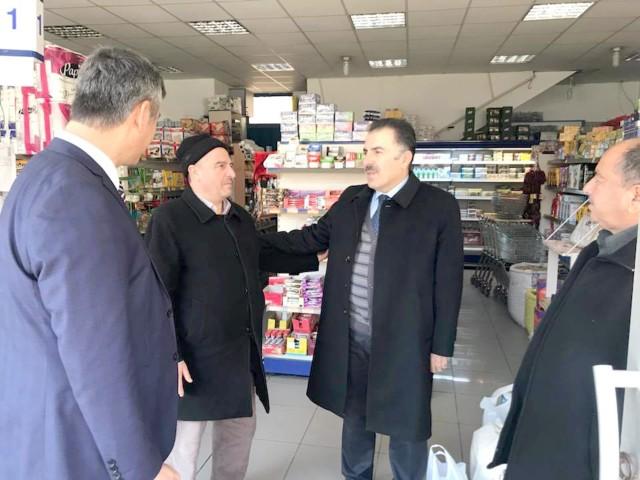 Soysal, Yerköy'de esnaf ve kurumları ziyaret etti