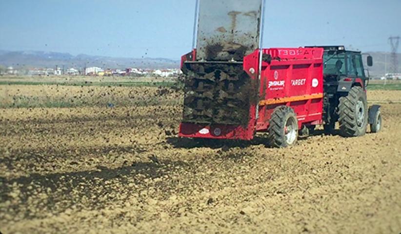 KOP Projesi kapsamında Kadışehri'ne  203 Bin TL'lik hayvan gübresi işleme makinesi