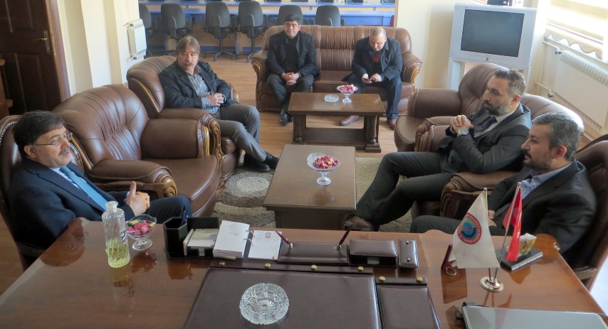 Milletvekili Başer'den Alakoç'a ziyaret
