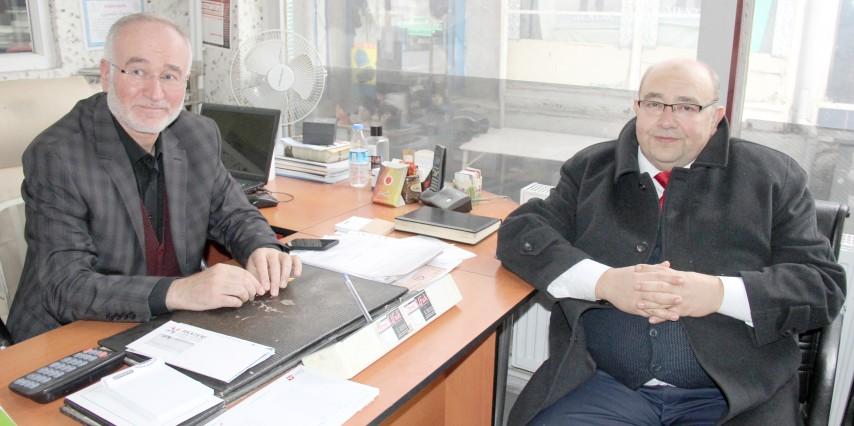Şahin'den Gazeteciler Günü ziyareti
