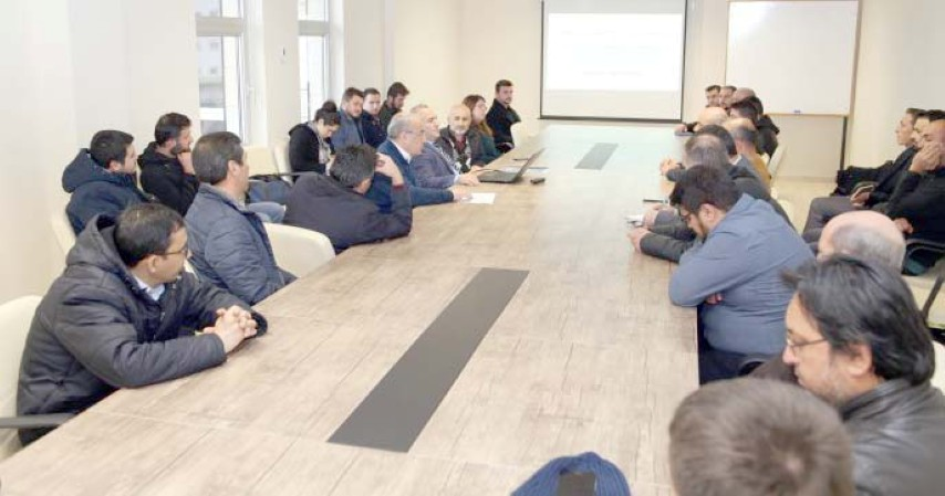 """BÜ'den """"Yükseköğretimde  kalite süreçleri"""" toplantısı"""
