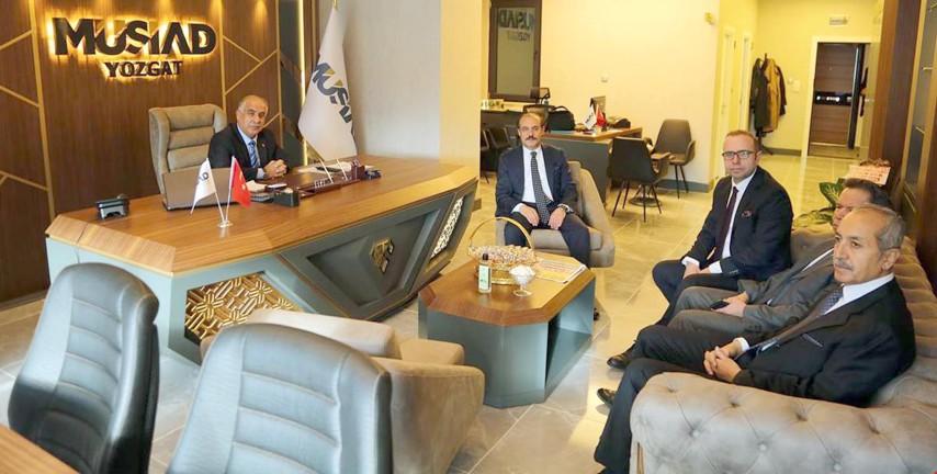 Vali Yurtnaç: MÜSİAD büyüyen ve gelişen  bir Yozgat için önemli bir kazanımdır