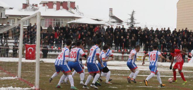 Nevşehirspor 11 gol buldu, Belen Belediyespor sahadan çekildi