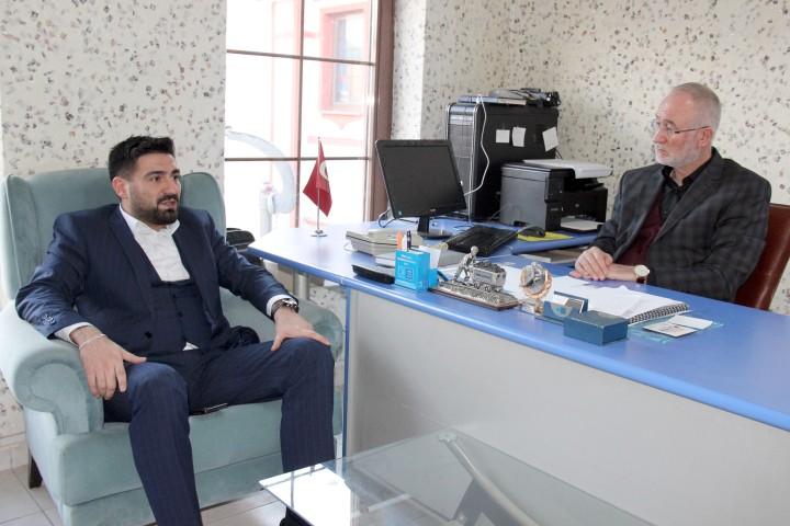 Büyüksoy'dan gazetemize ziyaret